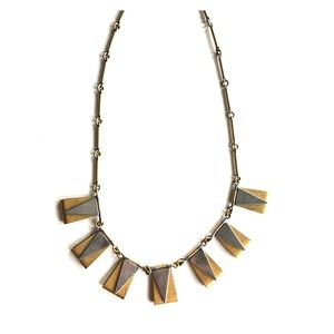 J. Crew Geometric Statement Necklace